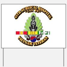 Army - 45th Surgical Hospital w SVC Ribbon Yard Si