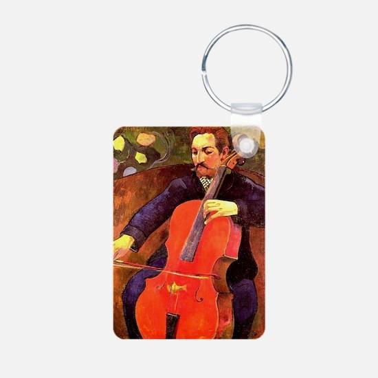 Gauguin: The Cellist, Paul Keychains