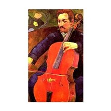Gauguin: The Cellist, Paul Cez Decal
