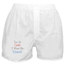 So Cute Dutch Boxer Shorts