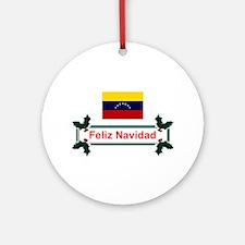 Venezuela Feliz...Keepsake Ornament
