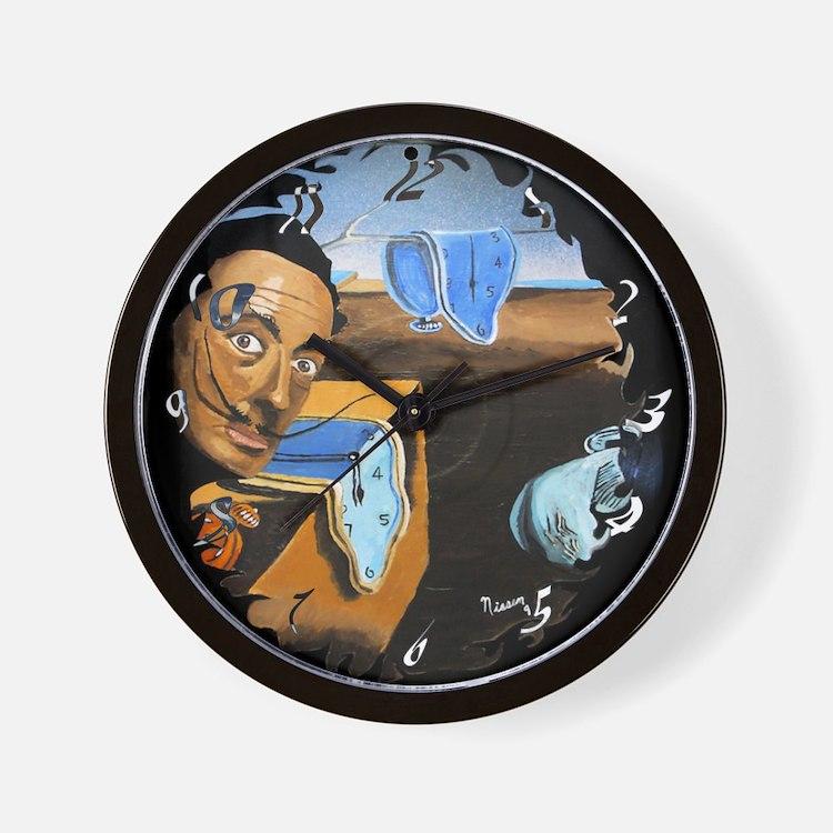 Dali! On Vinyl Wall Clock