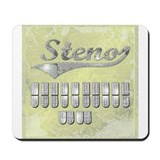 Steno Mouse Pads