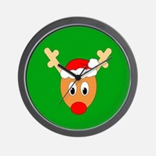 Ugly Sweater Reindeer Wall Clock