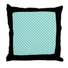 Christmas stripe Throw Pillow