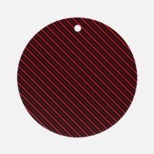 Christmas Lines Ornament (Round)