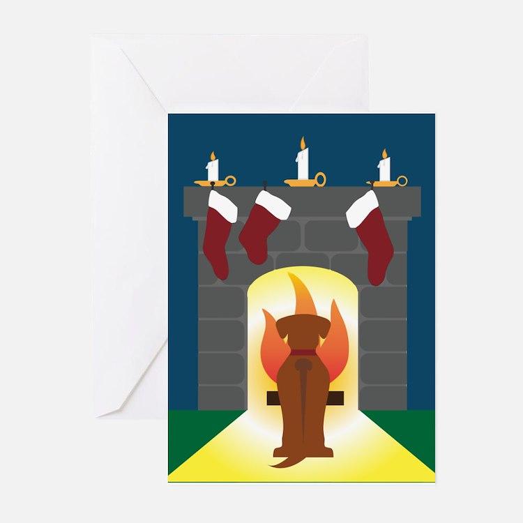 Rhodesian Ridgeback Christmas Card Greeting Cards