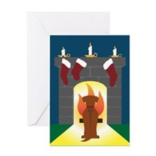Rhodesian Ridgeback Christmas Card Greeting Cards
