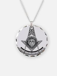 Masonic Past Master Emblem Necklace