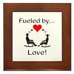 Fueled by Love Framed Tile