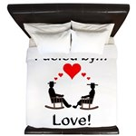 Fueled by Love King Duvet