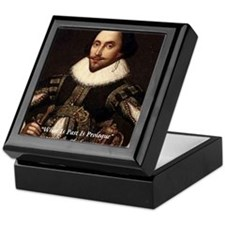 Shakespeare Past Is Prologue Keepsake Box