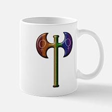 Rainbow Lesbian Pride Labrys Mug