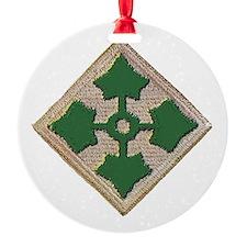 Fourth Infantry Div. Ornament