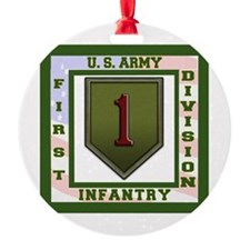Big Red One Ornament