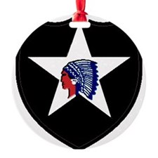 2nd Infantry Division Ornament