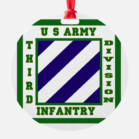 3rd ID Ornament