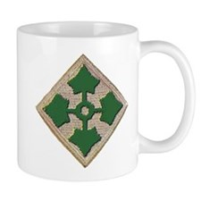 Fourth Infantry Div. Small Mug