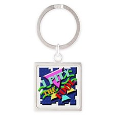 I Pity The Fool! Square Keychain