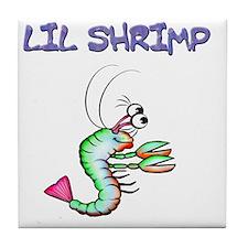 Lil shrimp Tile Coaster