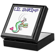Lil shrimp Keepsake Box