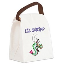 Lil shrimp Canvas Lunch Bag