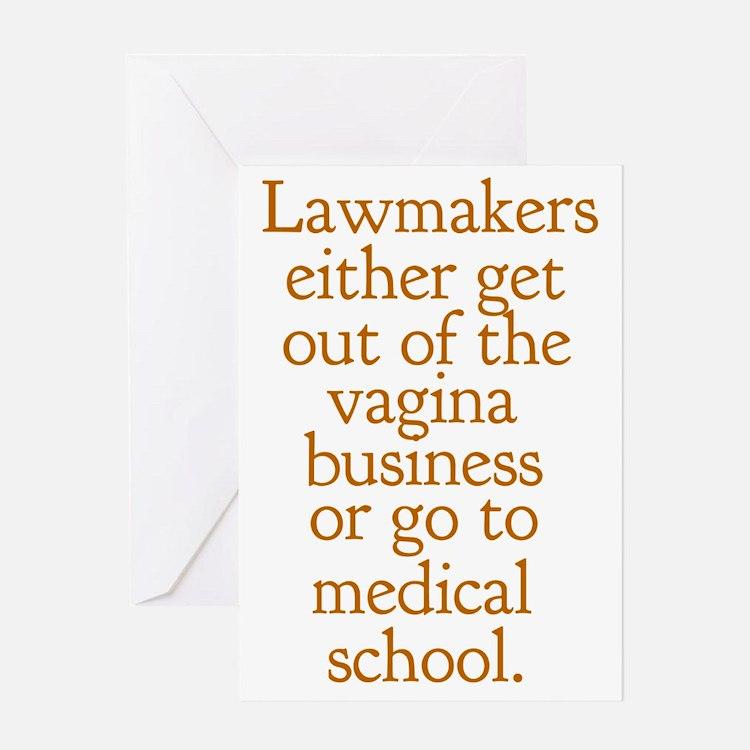 lawmakersigg Greeting Card