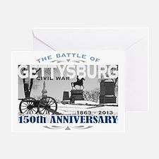 150 Anniversary Gettysburg Battle Greeting Card