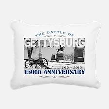 150 Anniversary Gettysbu Rectangular Canvas Pillow