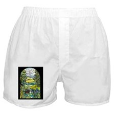 Holy City Memorial Window Boxer Shorts