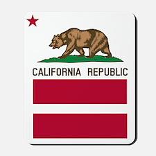California Flag Gay Pride Equal Rights Mousepad