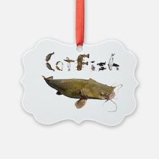 Catfish side font Ornament