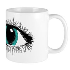 Eye Zipper Small Mug