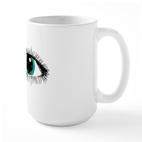 Eye Zipper Large Mug