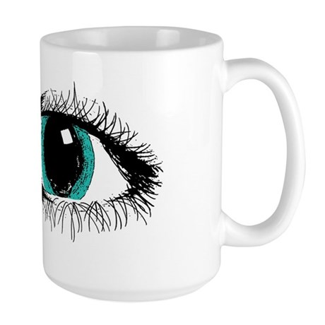 Eye Zipper Large Mug