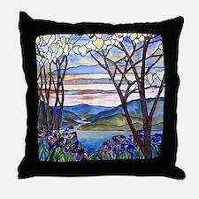 Tiffany Frank Memorial Window Throw Pillow