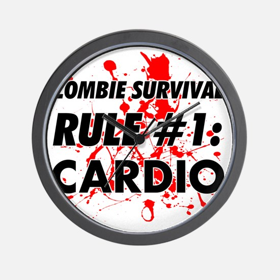 Rule #1 Cardio Wall Clock
