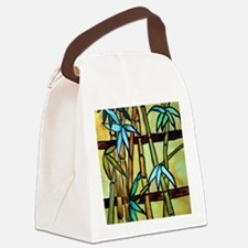 Tiffany Bamboo Panel Canvas Lunch Bag