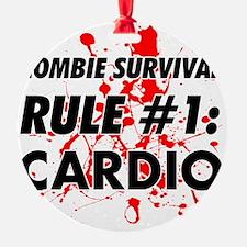 Rule #1 Cardio Ornament