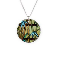 Tiffany Bamboo Panel Necklace