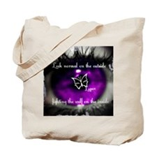 lupus eye Tote Bag