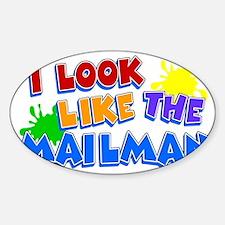 mailmanskid Sticker (Oval)