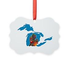Great Lakes Michigan Harvest Ornament