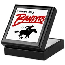 Tampa Bay Bandits Retro Logo Keepsake Box