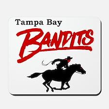 Tampa Bay Bandits Retro Logo Mousepad