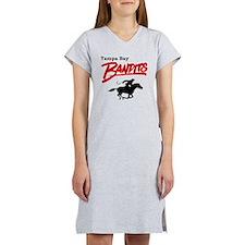 Tampa Bay Bandits Retro Logo Women's Nightshirt