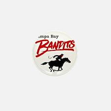 Tampa Bay Bandits Retro Logo Mini Button