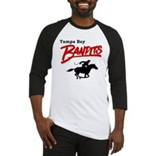 Tampa Bay Bandits Retro Logo Baseball Jersey