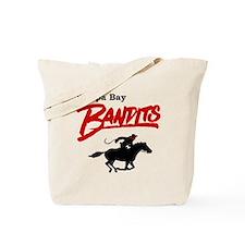 Tampa Bay Bandits Retro Logo Tote Bag