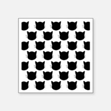 """Cats Square Sticker 3"""" x 3"""""""